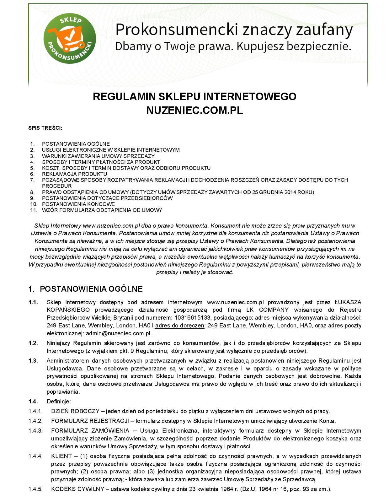 6ceefd8d1d448 Regulamin sklepu - Trądzik różowaty leczenieTrądzik różowaty leczenie